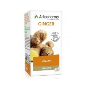 Arkopharma Arkocaps Ginger – 45 Capsules –