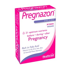 HealthAid Pregnazon Pregnancy – 30 Tablets –