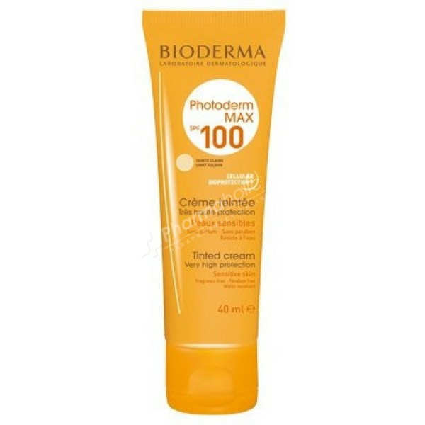 Bioderma Photoderm Max Tinted Cream Light Color SPF100 -40ml-
