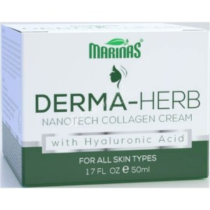 Marinas Derma-Herb nanotech collagen cream – 50 ml –