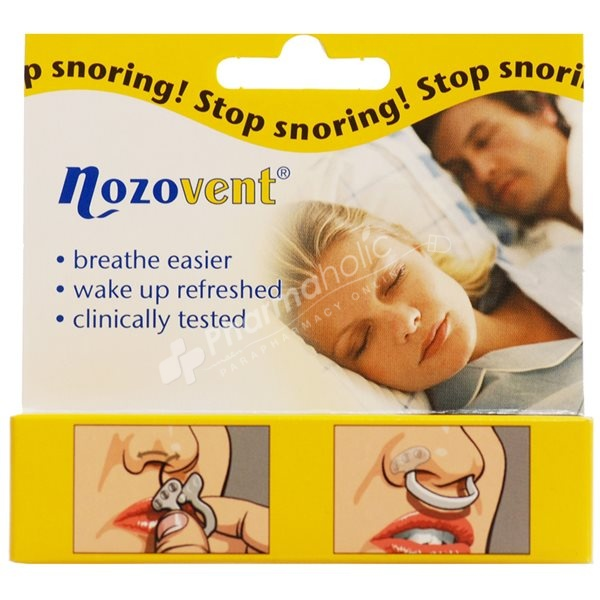 Nozovent Anti-Snoring Large Size -2 Pcs-