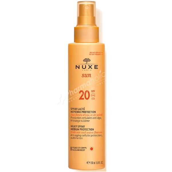 Nuxe Sun Milky Spray SPF20 150ml