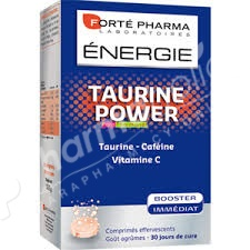 Forté Pharma Energie Taurine Power 30 Effervescent Tablets