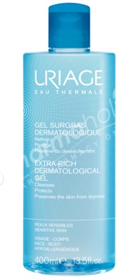Uriage Extra Rich Dermatological Gel 400ml