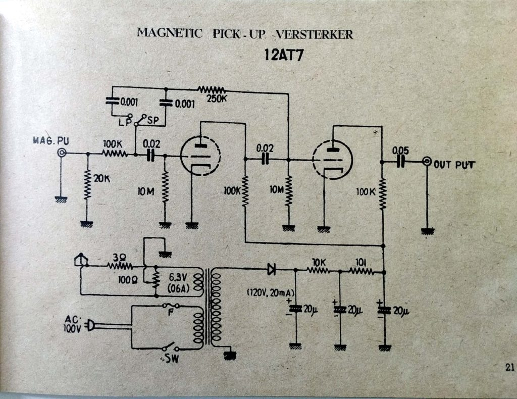 Preamplifier For Soundcard Circuit Diagram