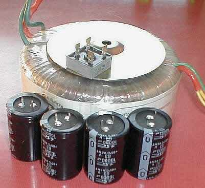 assembing tube amplifier