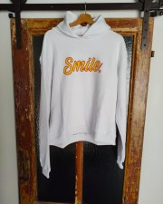 Hoodie smile yellow