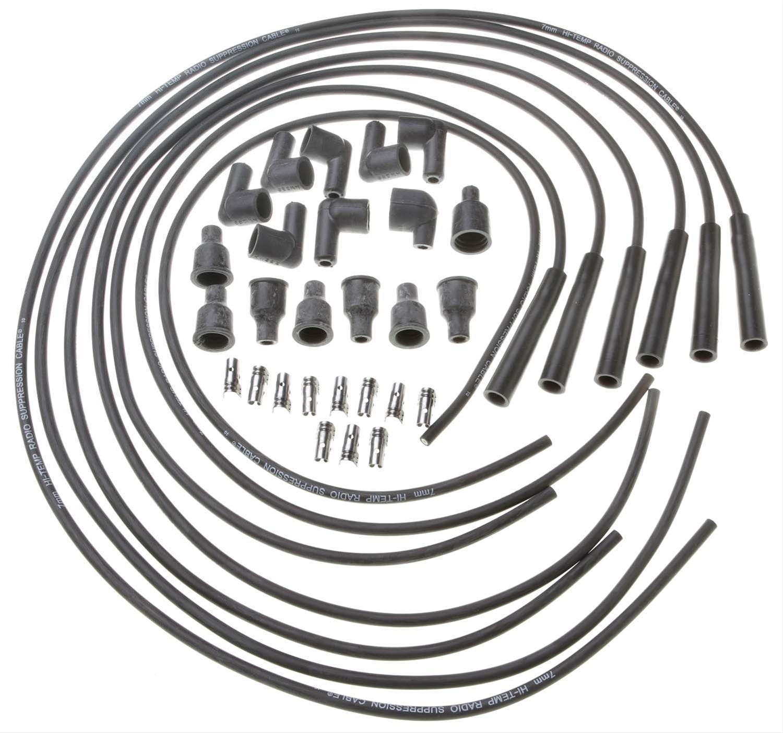 Bougiekabels voor lijn 6 motor met contactpunten