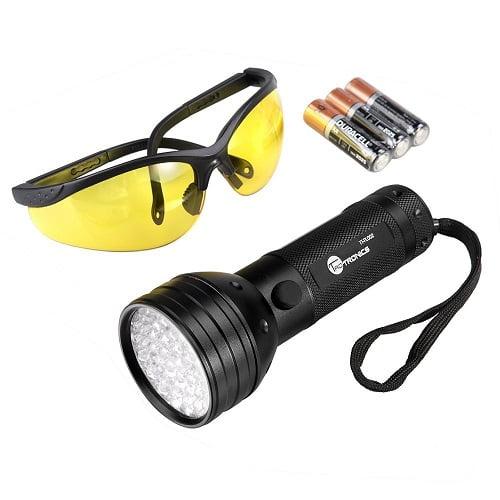 UV Flashlight Black Lights, TaoTronics 51 UV Urine Detector for dogs