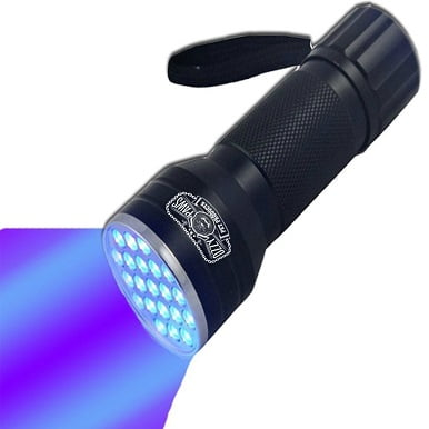 UV Flashlight-Brightest Black Light 21 LED Pet Urine Detector