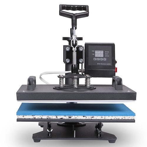 VEVOR Heat Presses 12 X 15 Inch 5 in 1 Digital Multifunctional Sublimation T Shirt Heat Press Machine