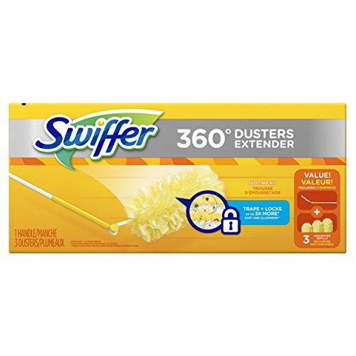 Swiffer 360 Dusters Extendable Handle Starter Kit