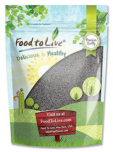 Food to Live Poppy Seeds (England) (Kosher) (4 Pounds)