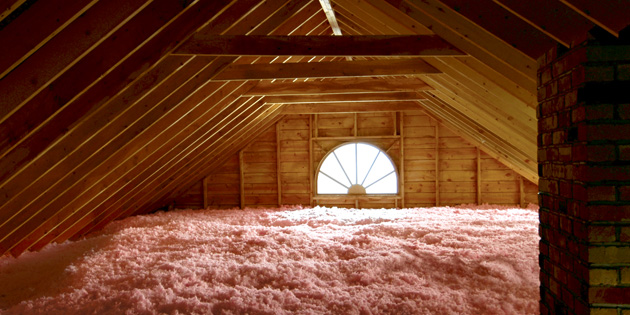 Proper home insulation in Olds.