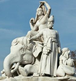 The Albert Memorial, Kensington Gardens (Asia group)