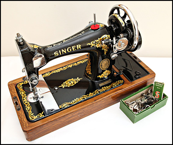 1929 Singer Sewing Machine Value