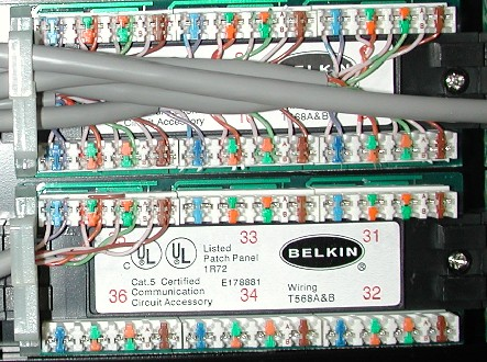 Network Patch Cable Wiring Diagram Chapter 4