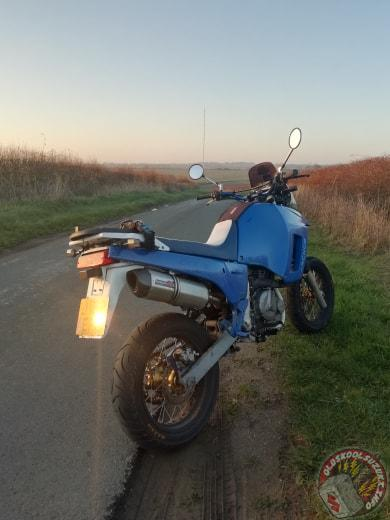 Oldskoolsuzuki DR750 bike of the month February 2019