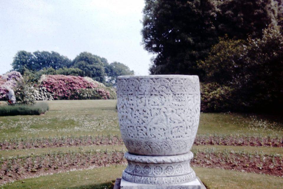 Sussex - Sussex-1970-04-Byzantine-Vase-at-Nymans.jpg