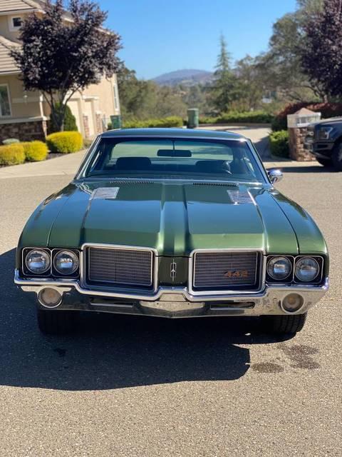 1972 442 : Numbers, Matching, 455/4spd, Dorado, Hills,, OldsmobileCENTRAL.com