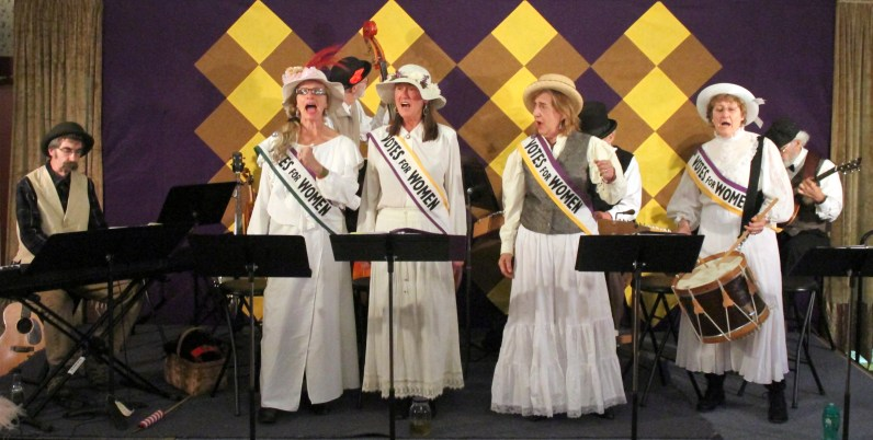 "Old Songs celebrates 100 years of Women's Suffrage in New York State with its latest ""hidden history"" concert, ""Forward into Light""."