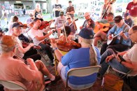 Jamming galore at the 2017 Festival.