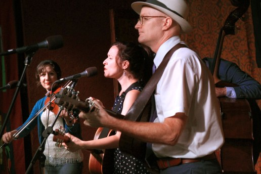 Low Lily returns to the Old Songs Festival with a lively set.