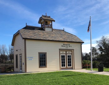 Replica of Rocklin's first firehouse has additional space if needed