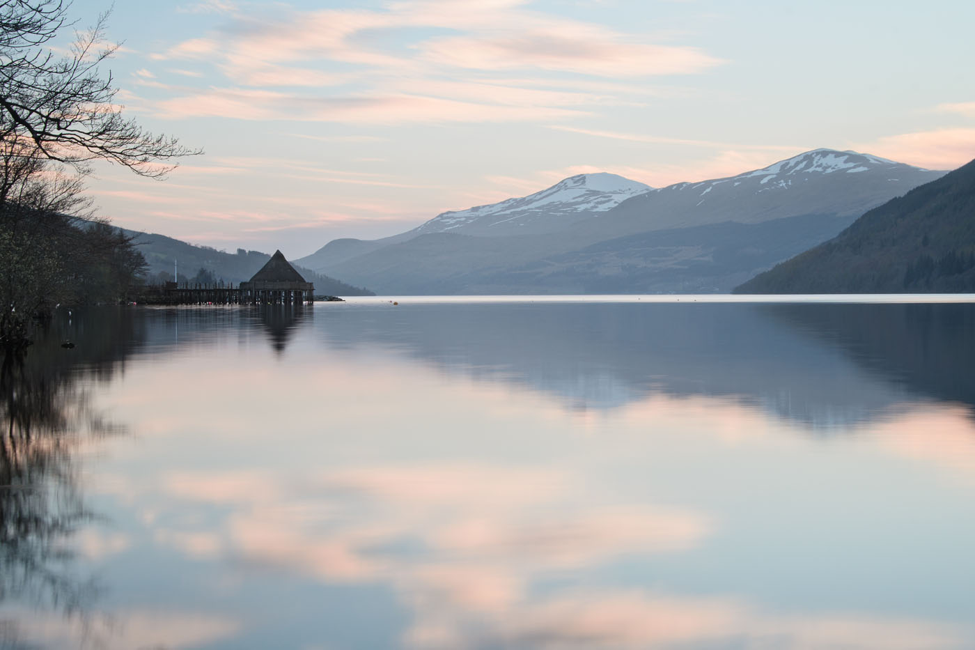 Kenmore and the Crannog, Loch Tay