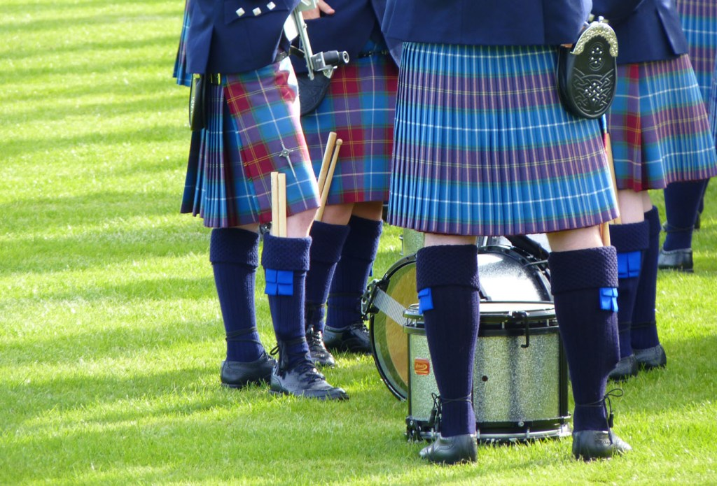 Pipebands, Crieff Highland Games