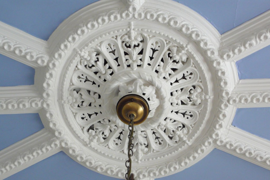 Ceiling Rose, Hall, Old St. Michaels
