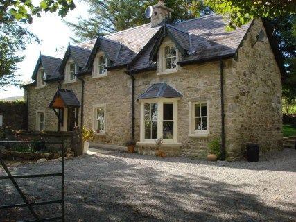 Brandon Lodge, stone cottage for sale in Ireland, Mount Brandon, granite, County Kilkenny