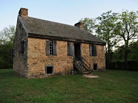 Old Rock House, Thomson, Georgia, Granite, old stone house, oldest stone house in Georgia