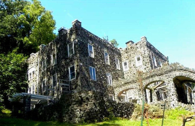 Rocky Hill Castle, stone castle, old stone home, Chadds Ford, Pennsylvania, historic home