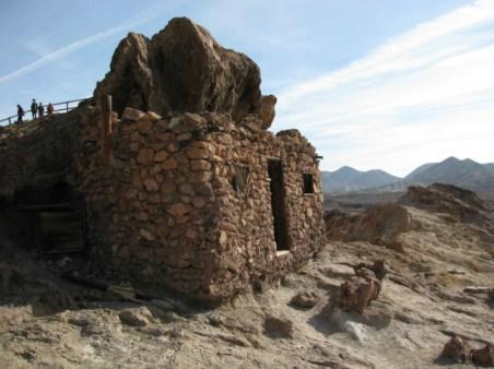 Stone house, Calico, California, Mojave Desert region, Southern California