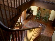 Ramsey House Staircase, Knoxville, Tennessee, old stone house, old stone home, historic homes
