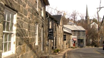 Ellicott City, Maryland, Main Street, Christmas Home Tour, holiday home tour, old stone home, old stone house