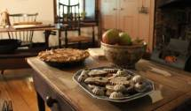 Mount Vernon Hotel, New York, Kitchen, holiday home tour, Christmas home tour, old stone home, old stone house, old stone hotel
