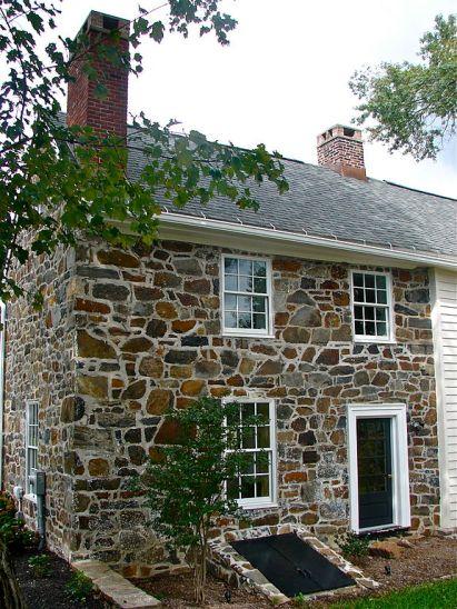 Charles Springer Tavern, Wilmington, Delaware, old stone homes, old stone houses, old stone barn ruins, old stone barn foundation