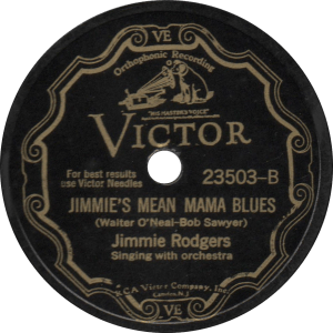 Jimmie's Mean Mama Blues, recorded