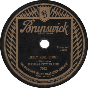 Jelly Roll Stomp, recorded