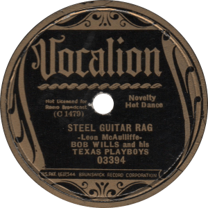 Steel Guitar Rag