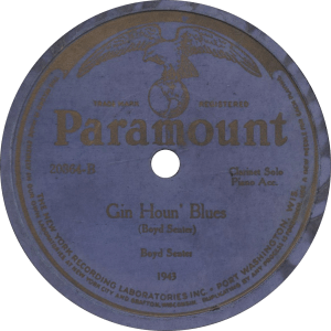 Gin Houn' Blues