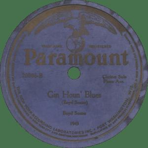Gin Houn' Blues