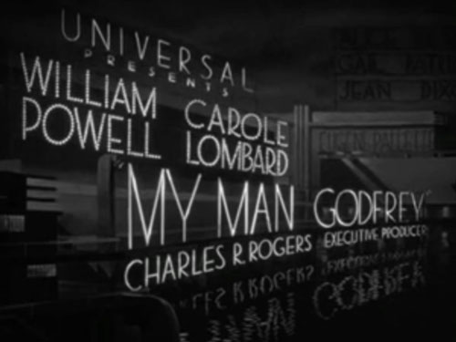 My Man Godfrey - 1936