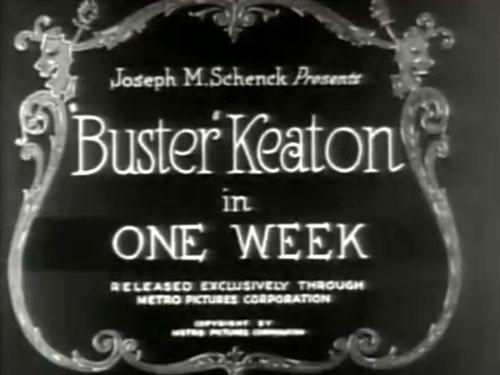 One Week - 1920