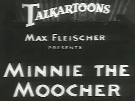 Betty Boop - Minnie the Moocher