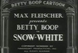 Betty Boop – Snow-White