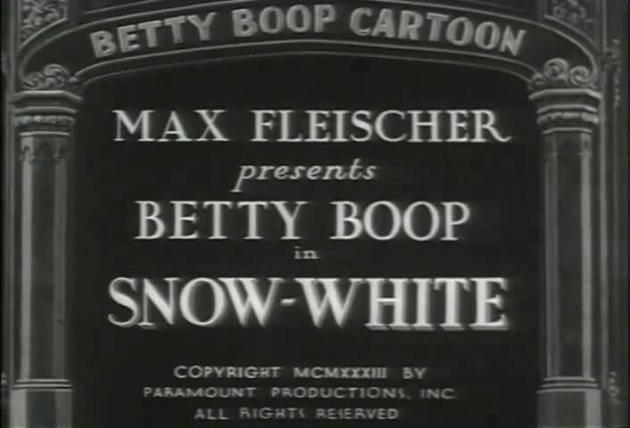 Betty Boop - Snow-White