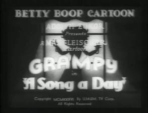 Betty Boop – A Song A Day